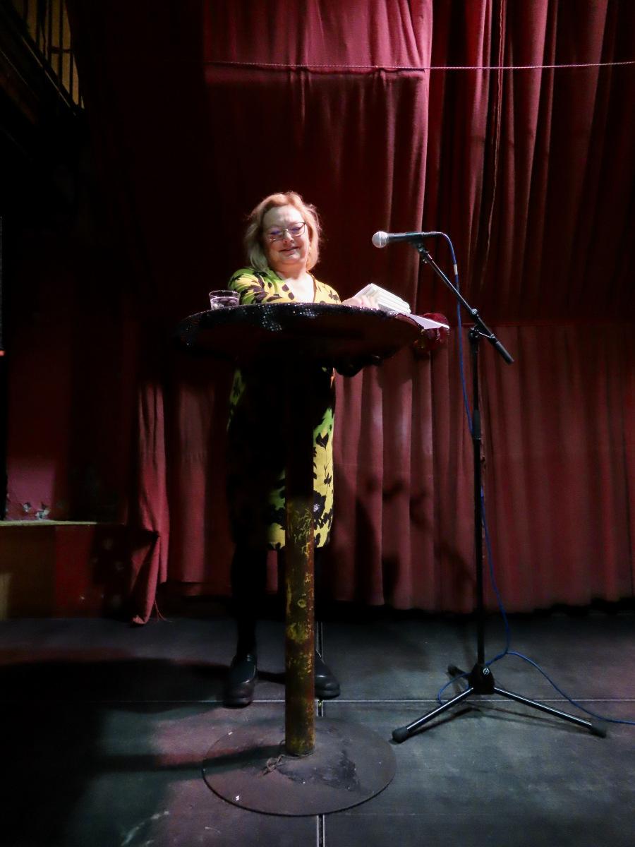 Lezing uit Sophie in De Nieuwe Anita in Amsterdam 10 oktober 2019